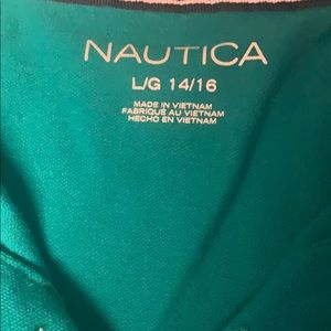 Nautica Shirts & Tops - BOYS TURQUOISE BOYS POLO SHIRT